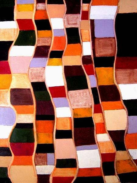 Espejismo en vertical – 65 x 81 cm – Oleo