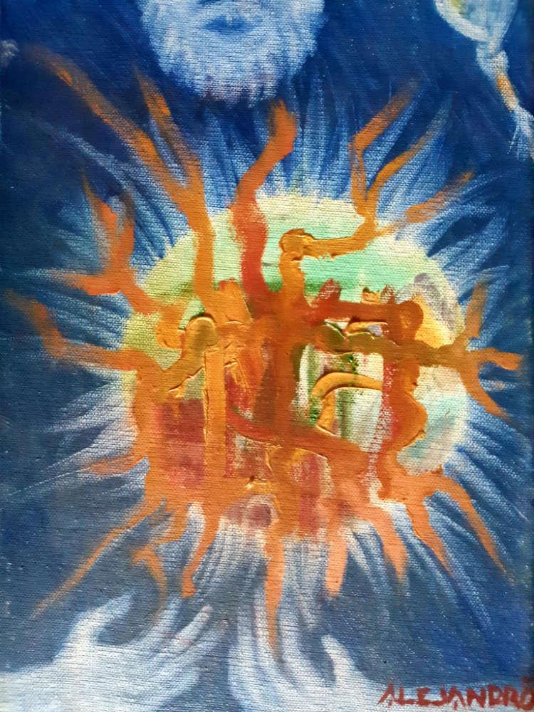 God - 25 x 35 cm - 2005