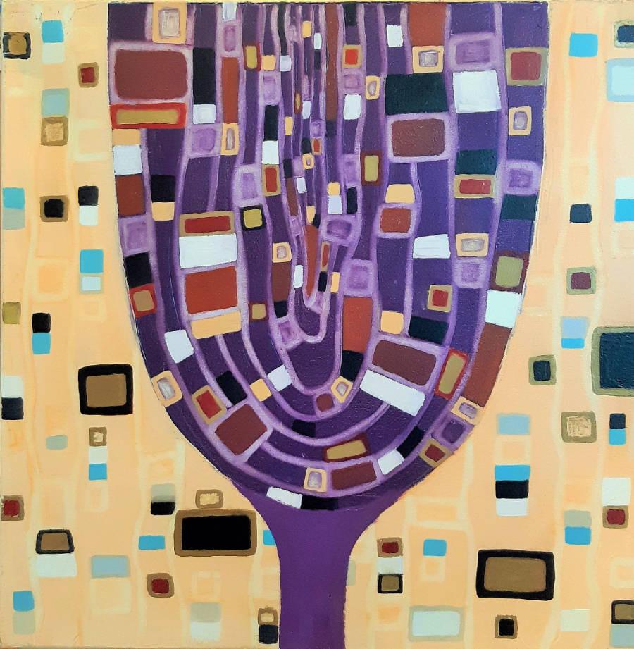 Copa de vino - 50 x 50 cm
