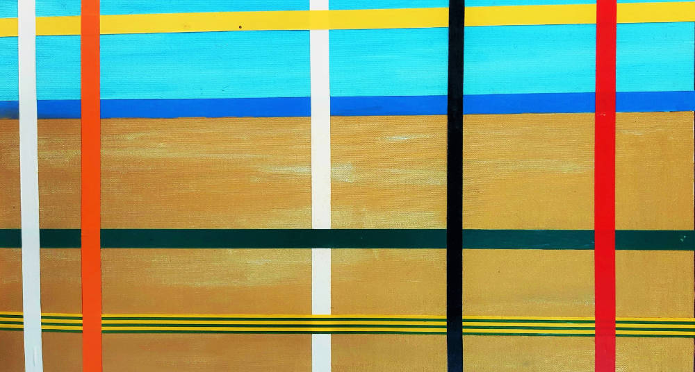 Far & away beach - 40 x 80 cm