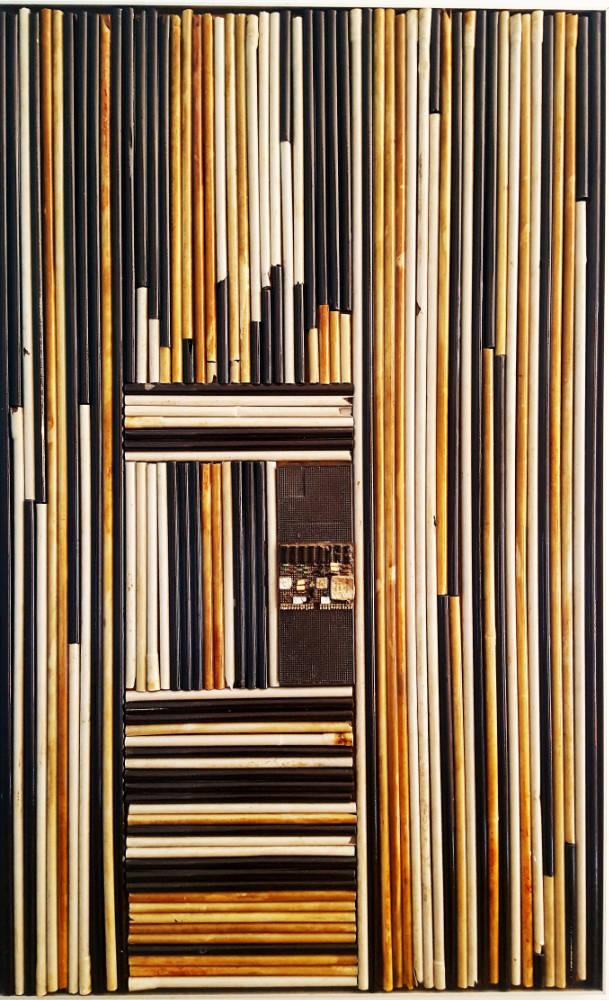 Nerfs du monde plastique - 60 x 90 cm