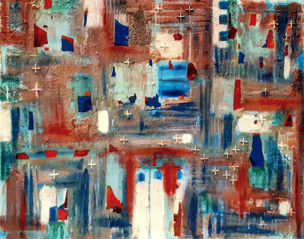 Mallorca sea & wine - 65 x 81 cm