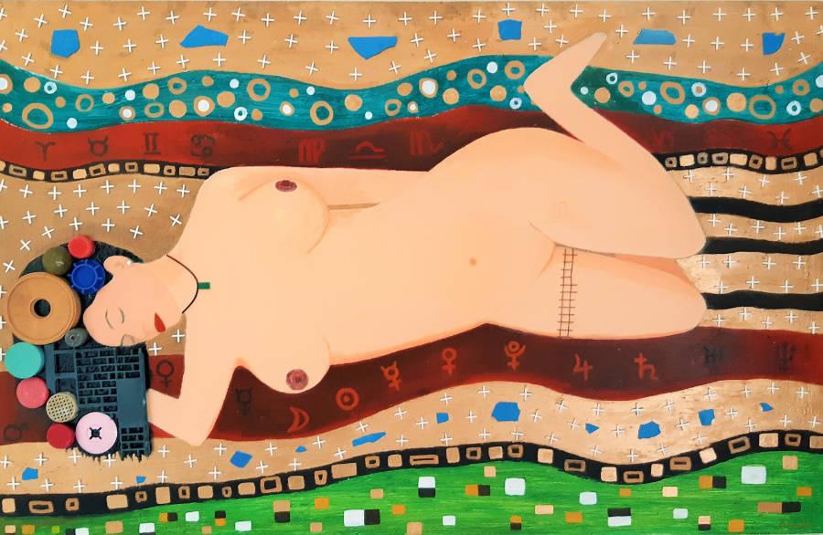 Astral Love - 140 x 90 cm