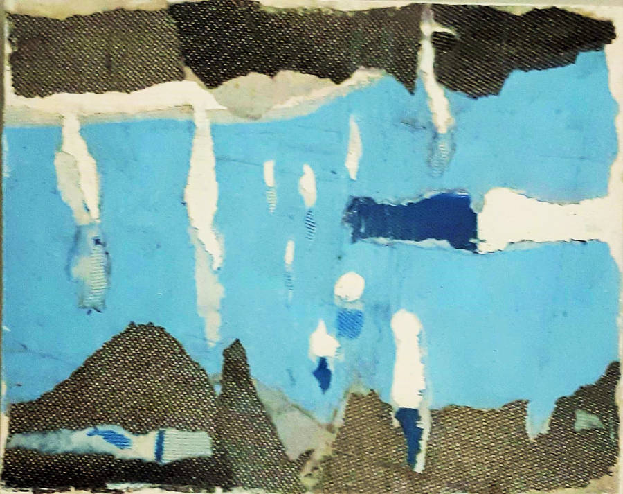 Marina blue - 20 x 30 cm