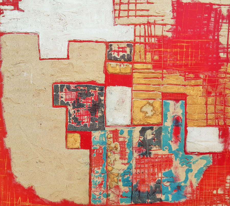 Egipt wall - 80 x 80 cm
